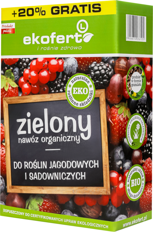 EKOFERT for berry and fruit plants 1 kg